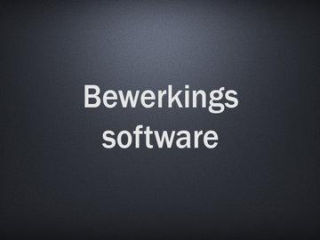 Bewerkingssoftware