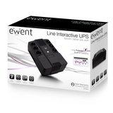 Ewent EW3945 UPS 600 VA 1 AC-uitgang(en) Line-Interactive_