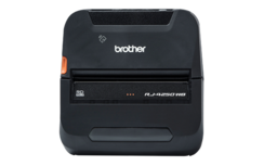Brother RJ-4250WB Robuuste mobiele printer voor labels en bonnen tot 11,4 cm met USB, WLAN en Bluetooth verbindingen.