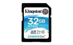 Kingston Technology Canvas Go! flashgeheugen 32 GB SDHC Klasse 10 UHS-I