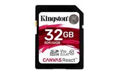 Kingston Technology SD Canvas React flashgeheugen 32 GB SDHC Klasse 10 UHS-I