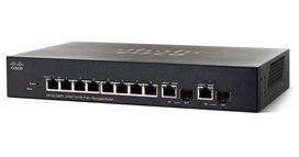 Cisco SF352-08 Managed L2/L3 Fast Ethernet (10/100) Zwart