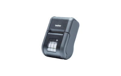 Brother RJ-2140 Stevige mobiele printer met LCD scherm voor bonnen en labels. Met Wi-Fi en AirPrint verbinding en ondersteuning van Android, iOS en Windows.
