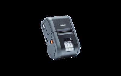 Brother Stevige mobiele printer met LCD scherm voor bonnen en labels. Met Bluetooth, MFi, Wi-Fi, AirPrint verbinding en ondersteuning van Android, iOS en Windows.