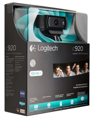 Logitech C920 webcam 15 MP 1920 x 1080 Pixels USB 2.0 Zwart