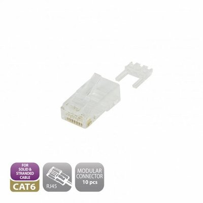 Ewent EW9004 RJ-45 Wit kabel-connector