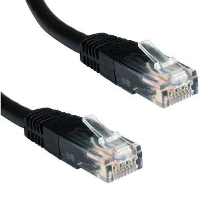 Ewent 1.0m Cat5e UTP netwerkkabel 1 m U/UTP (UTP) Zwart
