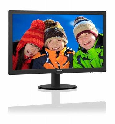 Mon Philips 21.5Inch 223V5LHSB LED / VGA / HDMI / ArtDesign