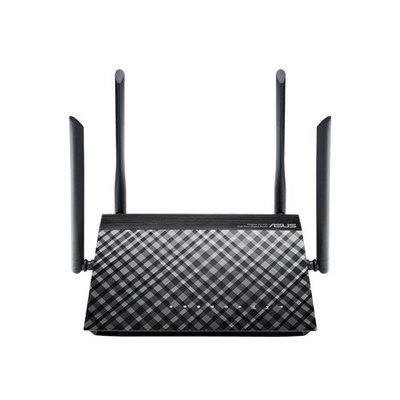 ASUS RT-AC1200G+ draadloze router Dual-band (2.4 GHz / 5 GHz) Gigabit Ethernet Zwart