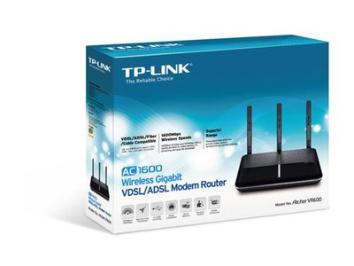 TP-Link Archer VR600 5GHz Wifi-ac + Router 5x 1Gbps Switch