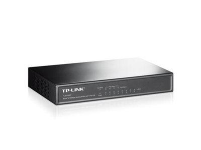 TP-LINK 8-port 10/100 PoE Switch Unmanaged network switch Power over Ethernet (PoE) Zwart