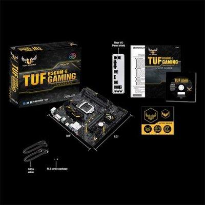 ASUS TUF B360M-E GAMING moederbord LGA 1151 (Socket H4) Micro ATX Intel® B360