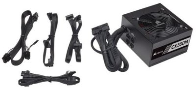 Corsair CX550M power supply unit 550 W ATX Zwart
