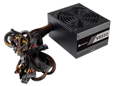 Corsair CP-9020171-EU 550W ATX Zwart power supply unit