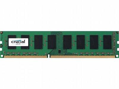 Crucial 8GB DDR3L/1600 (Low volt.)
