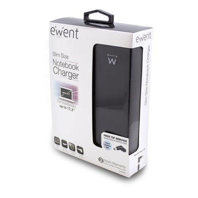 Ewent EW3986 netvoeding & inverter Universeel 90 W Zwart
