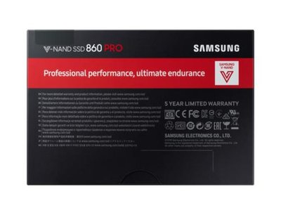 Samsung 860 PRO internal solid state drive 2.5
