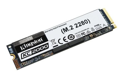 Kingston Technology KC2000 internal solid state drive M.2 500 GB PCI Express 3.0 3D TLC NVMe