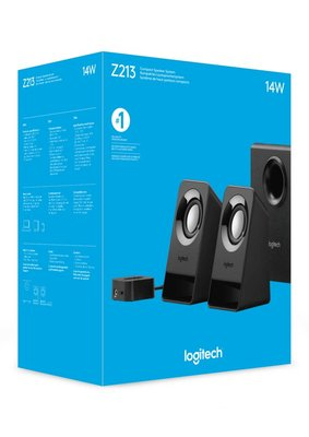 Logitech Z213 luidspreker set 2.1 kanalen 7 W Zwart