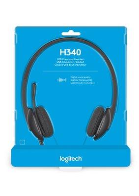 Logitech H340 Stereofonisch Hoofdband Zwart