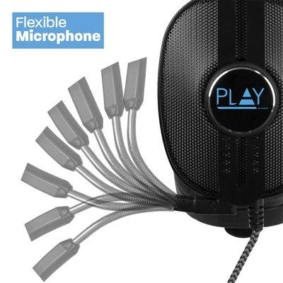 Ewent Play PL3321 Stereofonisch Hoofdband Zwart