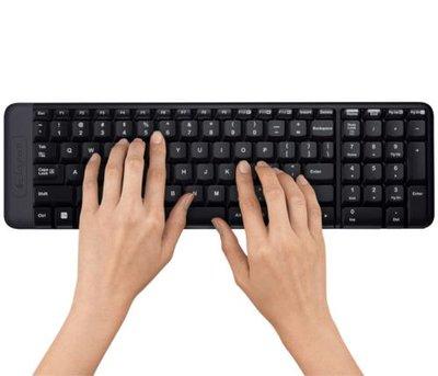 Logitech MK220 toetsenbord RF Draadloos QWERTY Internationaal EER Zwart