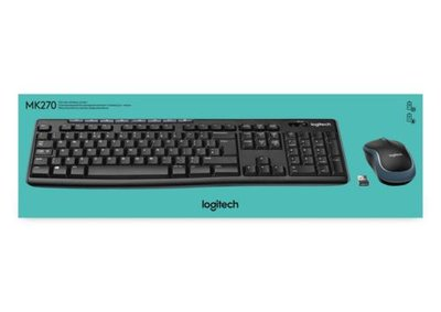 Logitech Ret. Wireless Desktop MK270
