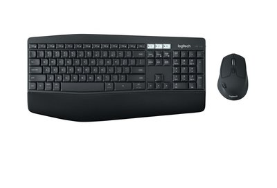 Logitech MK850 toetsenbord RF Wireless + Bluetooth QWERTY US International Black