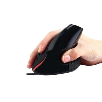 Ewent EW3156 muis USB Optisch 1000 DPI Zwart, Rood