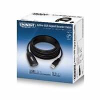 Eminent EM1530 USB-kabel 5 m 3.2 Gen 1 (3.1 Gen 1) USB A Zwart