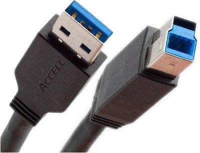 Ewent EW9623 USB-kabel 1,8 m 3.2 Gen 1 (3.1 Gen 1) USB A USB B Zwart