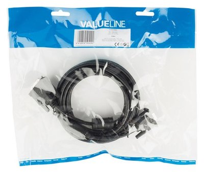 Valueline VLCP32100B50 video kabel adapter
