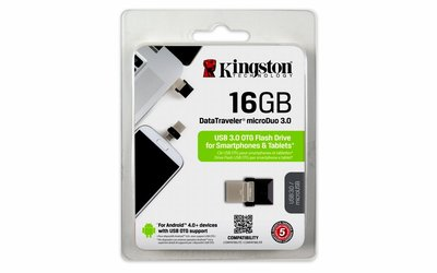 Storage Kingston Micro Duo USB3.0 16GB