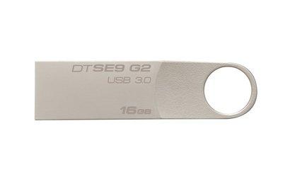 Kingston Technology DataTraveler SE9 G2 16GB USB flash drive USB Type-A 3.0 (3.1 Gen 1) Zilver
