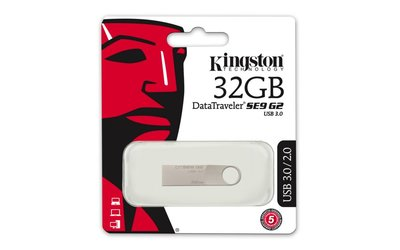Kingston Technology DataTraveler SE9 G2 USB flash drive 32 GB USB Type-A 3.0 (3.1 Gen 1) Zilver