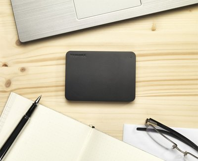 Toshiba Canvio Basics externe harde schijf 1000 GB Zwart