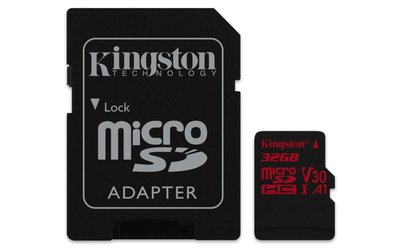 Kingston Technology Canvas React flashgeheugen 32 GB MicroSDHC Klasse 10 UHS-I
