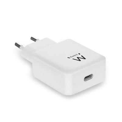 Ewent EW1315 oplader voor mobiele apparatuur Binnen Wit