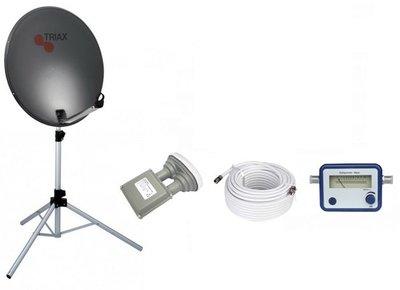 BCK TravelSat TS-65DS Recreatieset Duo Single LNB