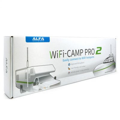 Alfa Network WiFi-Camp Pro2 Set Tube N Antenne + R36A Router