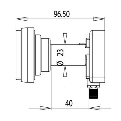 Inverto IDLB-SINM26-DAB43-8PP DUO Single LNB Tbv 78/88cm 4.3