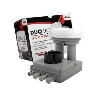 Canal Digitaal M7 CDS / Inverto DUO Quad LNB 19.2+23.5 60 Cm 4.3gr