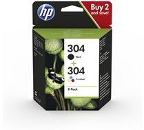 HP 304 Multipack zwart en kleur (Origineel)