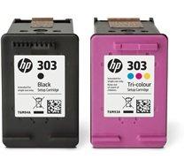 HP 303 2-pack zwart en kleur (Origineel)