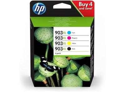 HP 903XL Multipack zwart en kleur (Origineel Hoge Capaciteit)