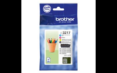 Brother LC-3217 Multipack zwart en kleur (Origineel)