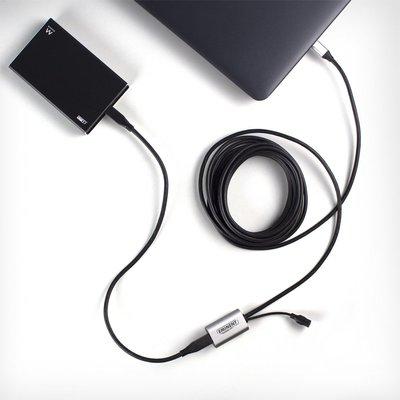 Eminent EM1535 USB-kabel 5 m 3.2 Gen 1 (3.1 Gen 1) USB C Zwart
