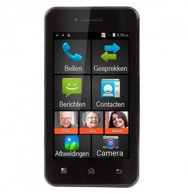 FMA-5000 Senioren Smartphone, zwart
