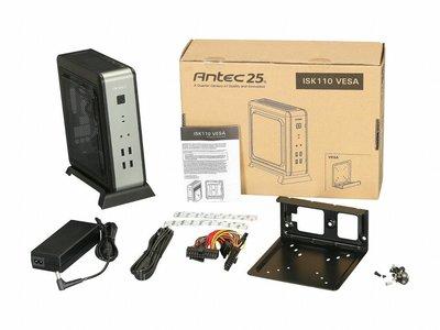 Case Antec ISK-110 VESA U3 / 90 Watt / HTPC / mITX