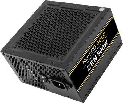 Antec NE500G Zen power supply unit 500 W ATX Zwart